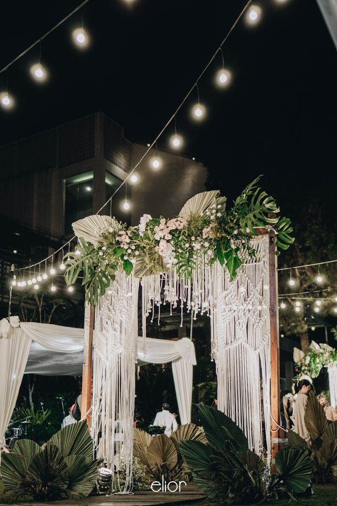 The Wedding of Lidia Dhany by Elior Design - 007