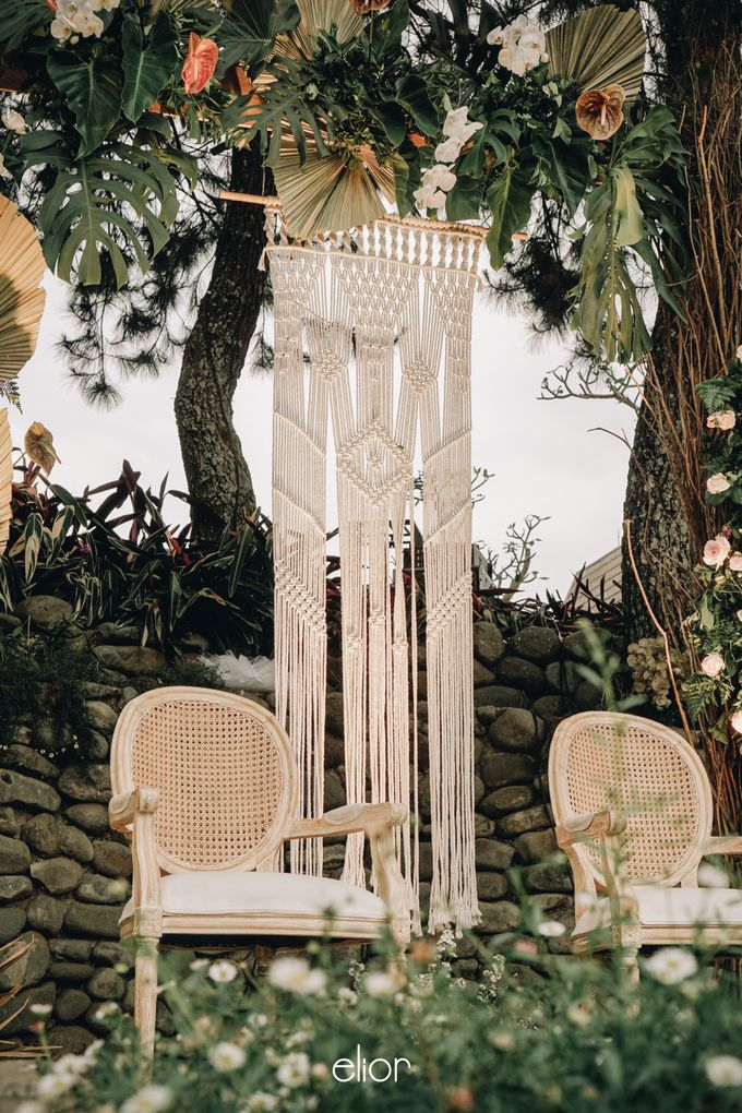 The Wedding of Lidia Dhany by Elior Design - 012