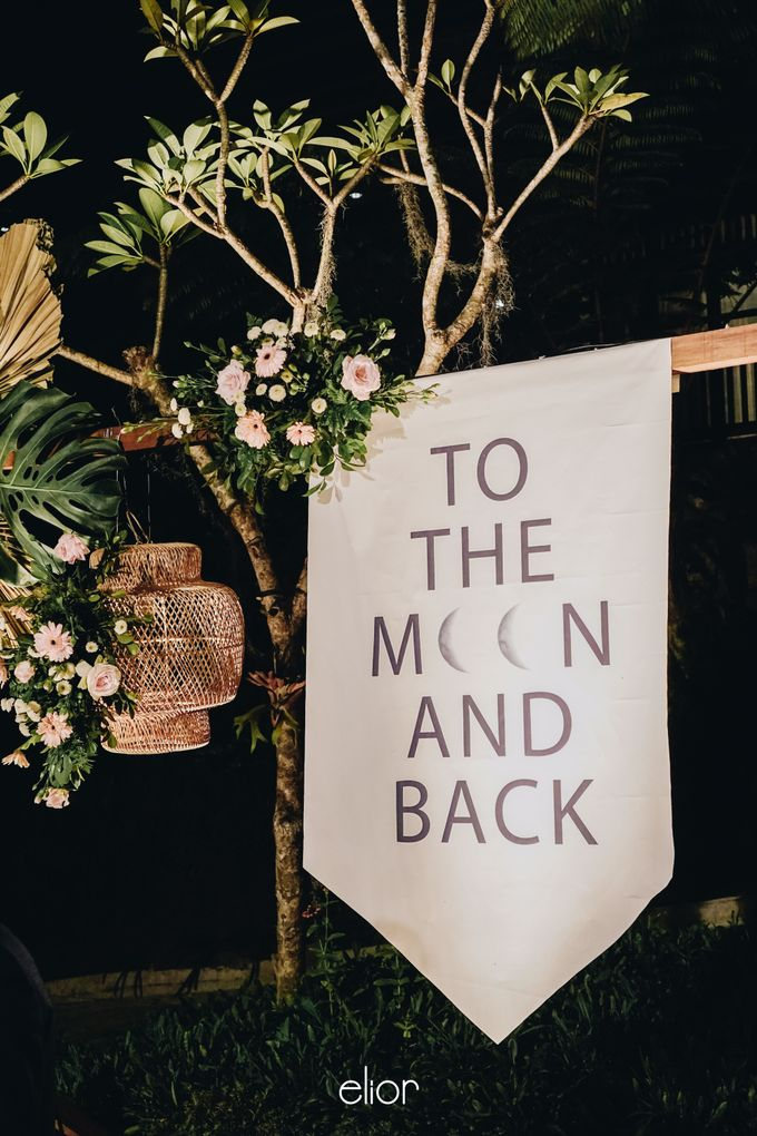 The Wedding of Lidia Dhany by Elior Design - 018
