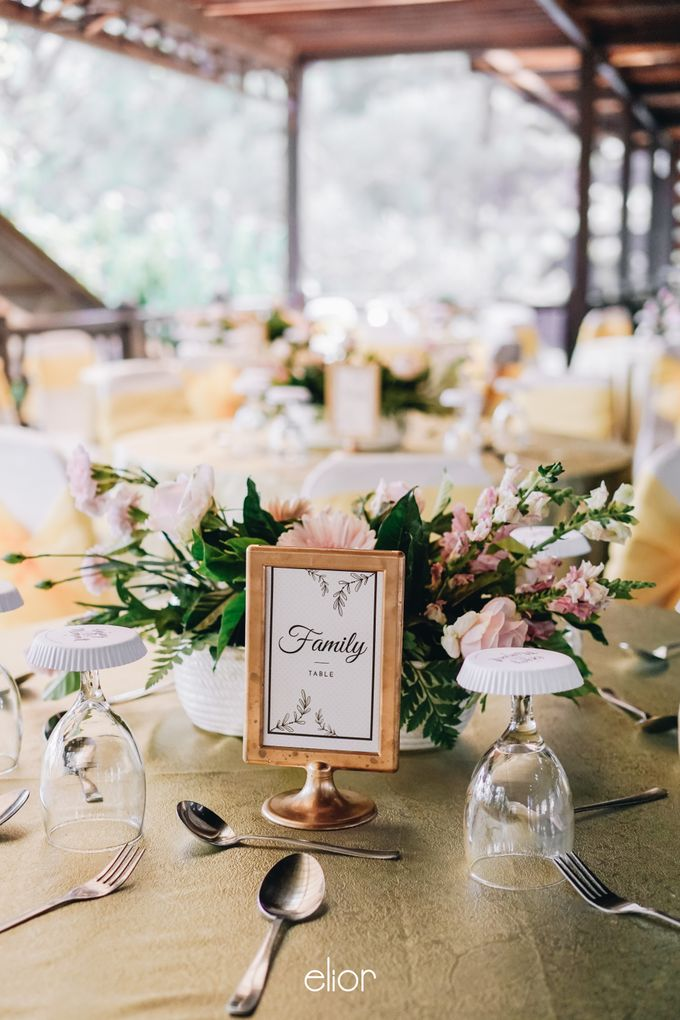 The Wedding of Lidia Dhany by Elior Design - 010