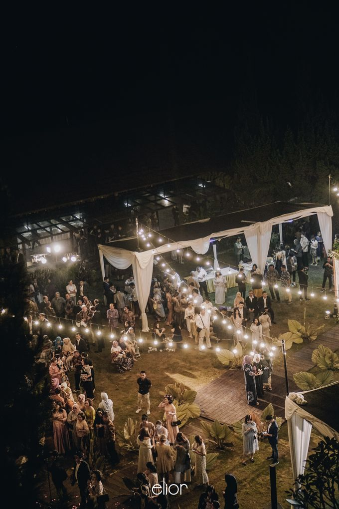 The Wedding of Lidia Dhany by Elior Design - 020