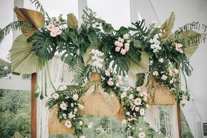 The Wedding of Lidia Dhany by Elior Design - 011