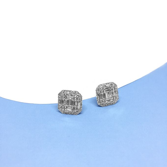 Diamond Earring by Felicity Jewellery - 004