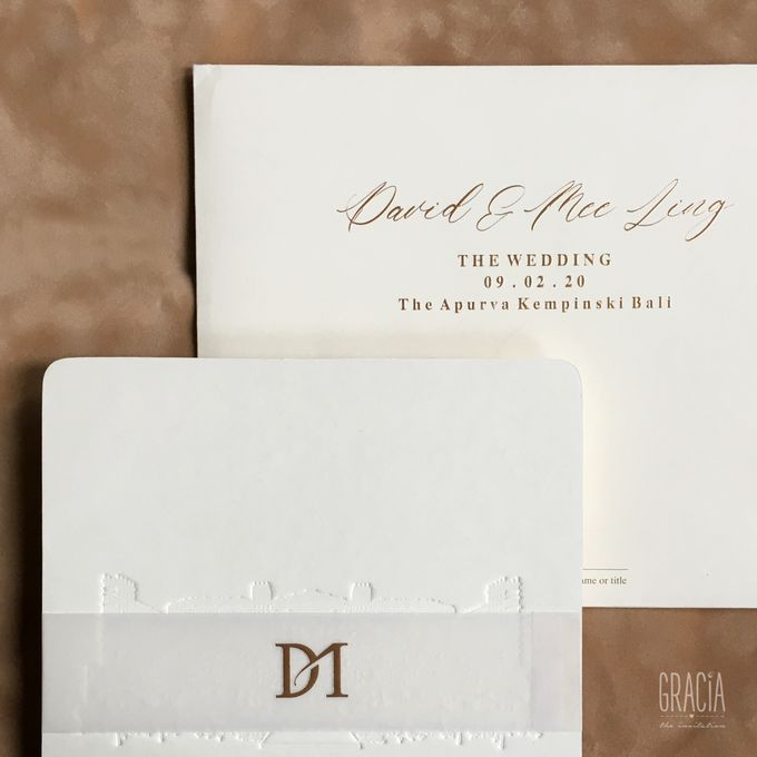David & Mee ling by Gracia The Invitation - 001