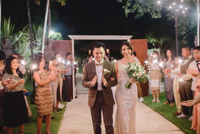 The Wedding of Acha & Andy by Bubah Alfian Make Up Artist - 016