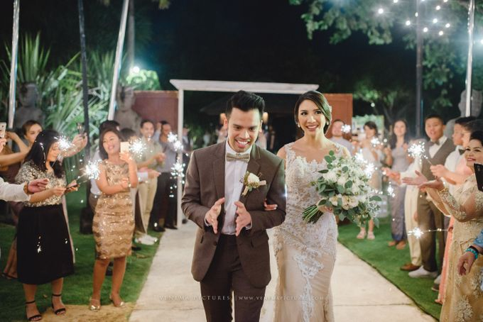 The Wedding of Acha & Andy by Bubah Alfian Make Up Artist - 017