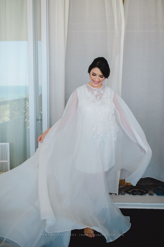 The Wedding of Acha & Andy by Bubah Alfian Make Up Artist - 007