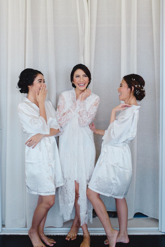 The Wedding of Acha & Andy by Bubah Alfian Make Up Artist - 008
