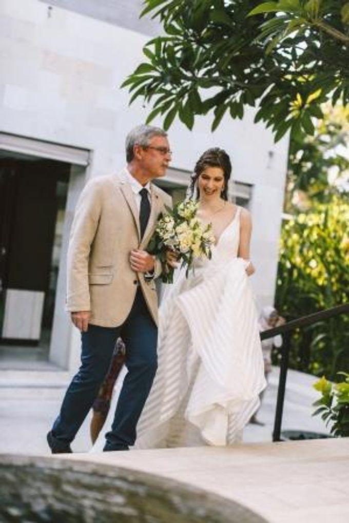 WEDDING ELIZABETH & tYLER by Fairmont Sanur Beach Bali - 012