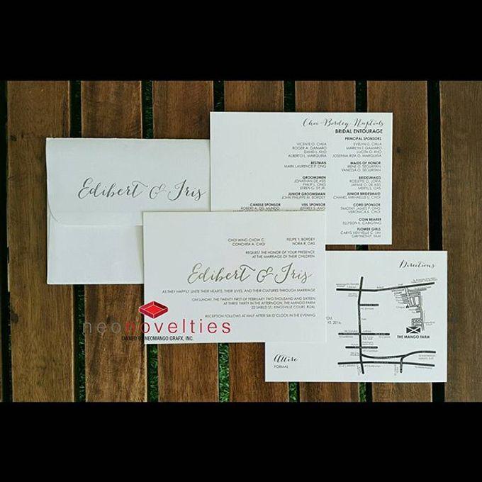 Typography Invites by neonovelties - 001
