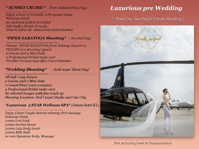 Luxurious pre Wedding by RedCarpet Bridal Artistry - 001