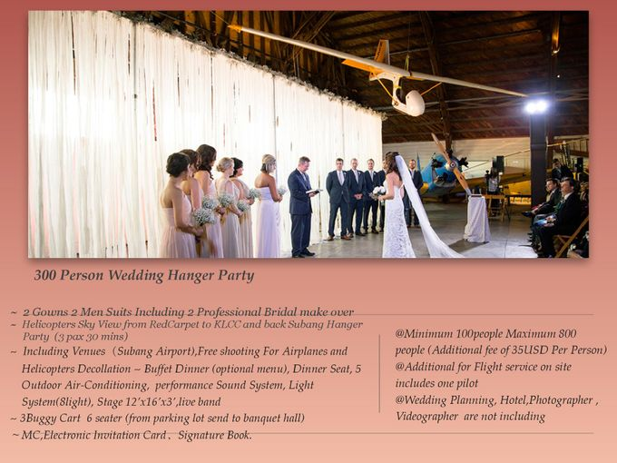 Wedding Hanger Party by RedCarpet Bridal Artistry - 001
