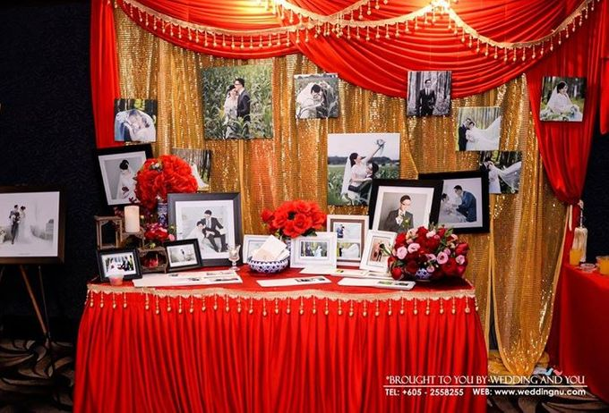 Oriental Wedding Decoration Theme by Wedding And You - 012