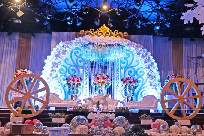 Cinderella Wedding Themed By Delight Jakarta Bridestory