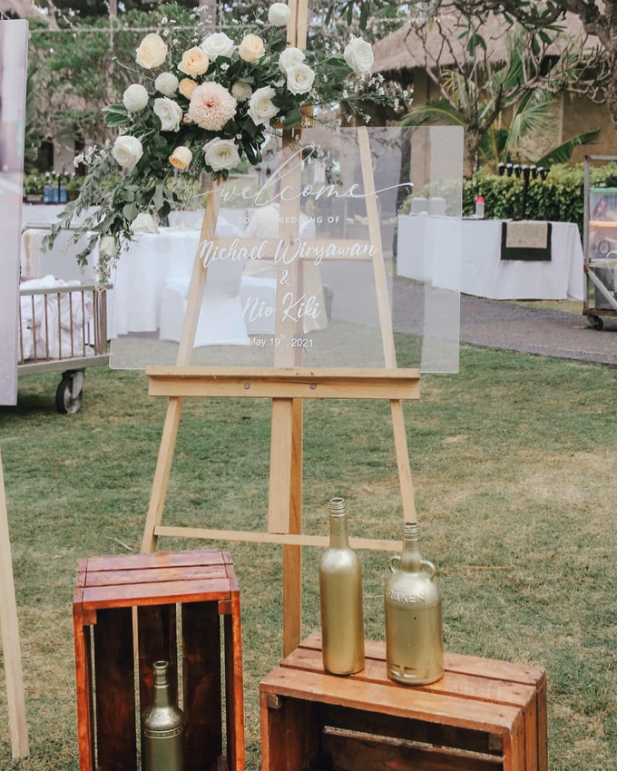 The Wedding of Michael & Nio Kiki by Dona Wedding Decoration & Planner - 001
