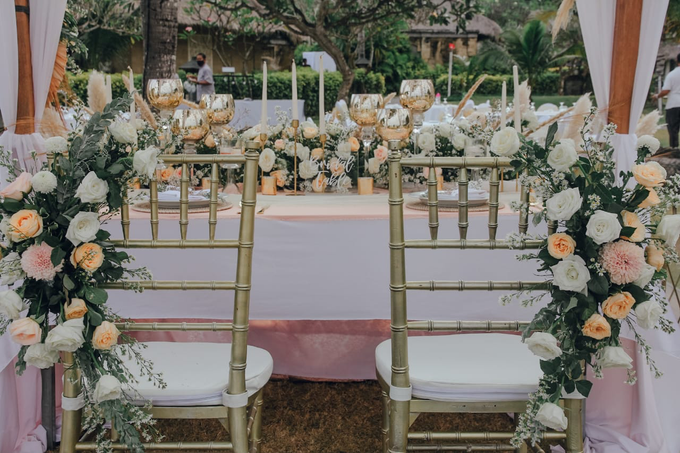 The Wedding of Michael & Nio Kiki by Dona Wedding Decoration & Planner - 004