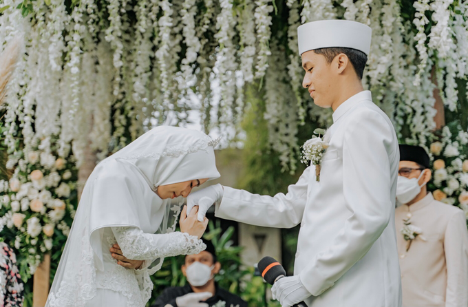 The Wedding of Rafif & Varian by Dona Wedding Decoration & Planner - 009