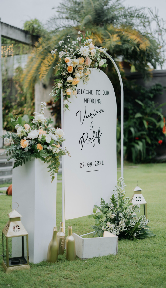 The Wedding of Rafif & Varian by Dona Wedding Decoration & Planner - 010