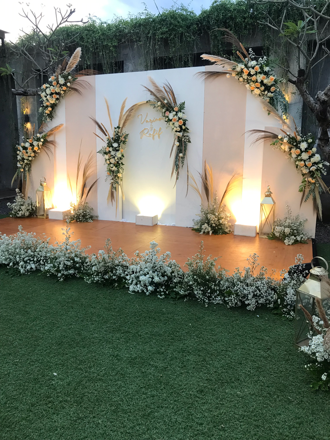 The Wedding of Rafif & Varian by Dona Wedding Decoration & Planner - 013