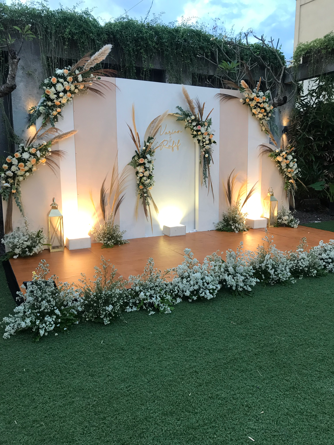 The Wedding of Rafif & Varian by Dona Wedding Decoration & Planner - 014