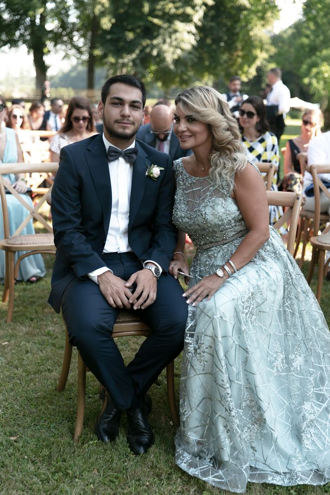 Al Fresco Wedding in the garden of a french castle by Dorothée Le Goater Events - 001