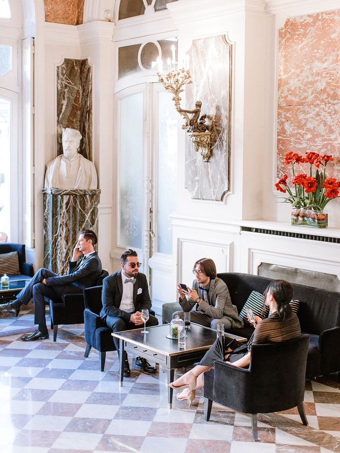 Private mansion luxury wedding in Paris by Dorothée Le Goater Events - 002