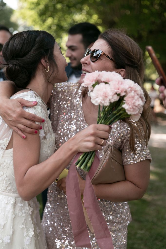 Al Fresco Wedding in the garden of a french castle by Dorothée Le Goater Events - 010