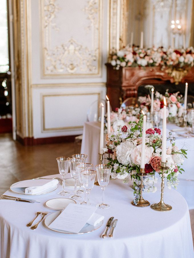Private mansion luxury wedding in Paris by Dorothée Le Goater Events - 011