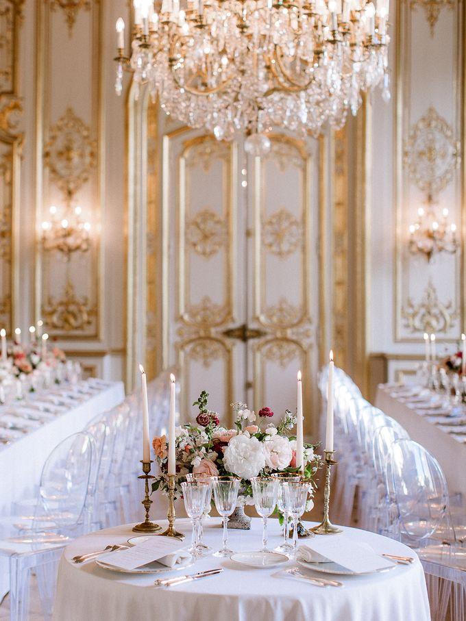 Private mansion luxury wedding in Paris by Dorothée Le Goater Events - 012