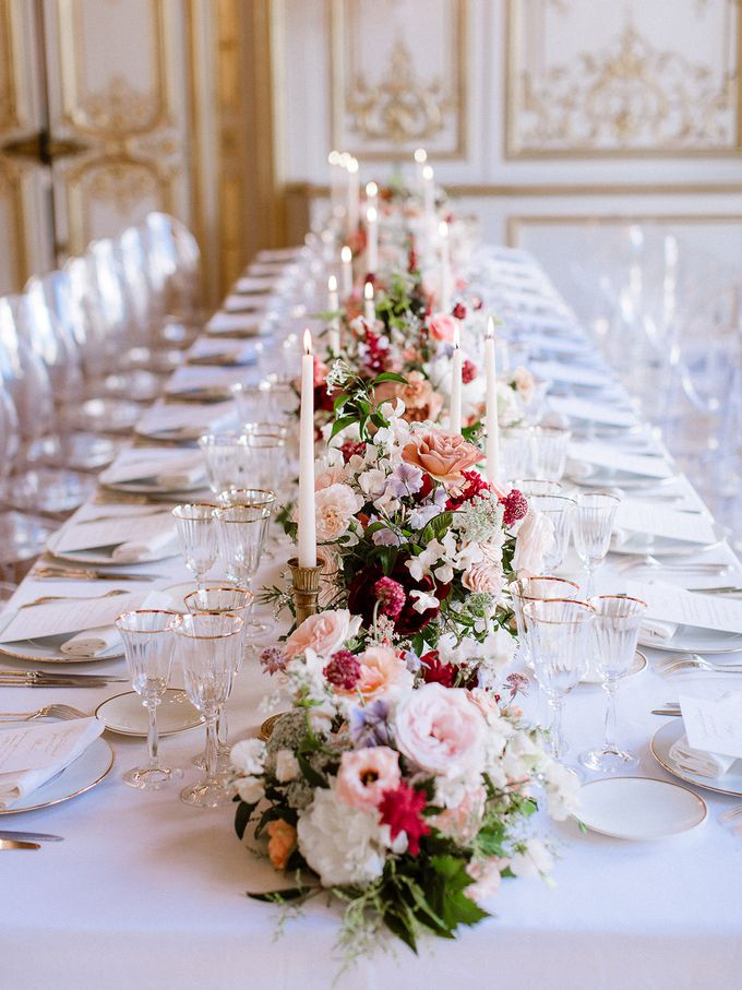 Private mansion luxury wedding in Paris by Dorothée Le Goater Events - 001