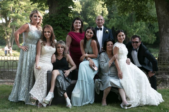Al Fresco Wedding in the garden of a french castle by Dorothée Le Goater Events - 013