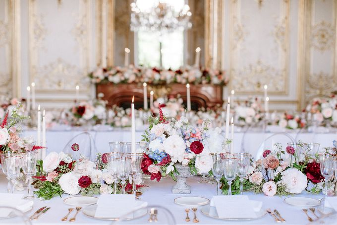 Private mansion luxury wedding in Paris by Dorothée Le Goater Events - 013