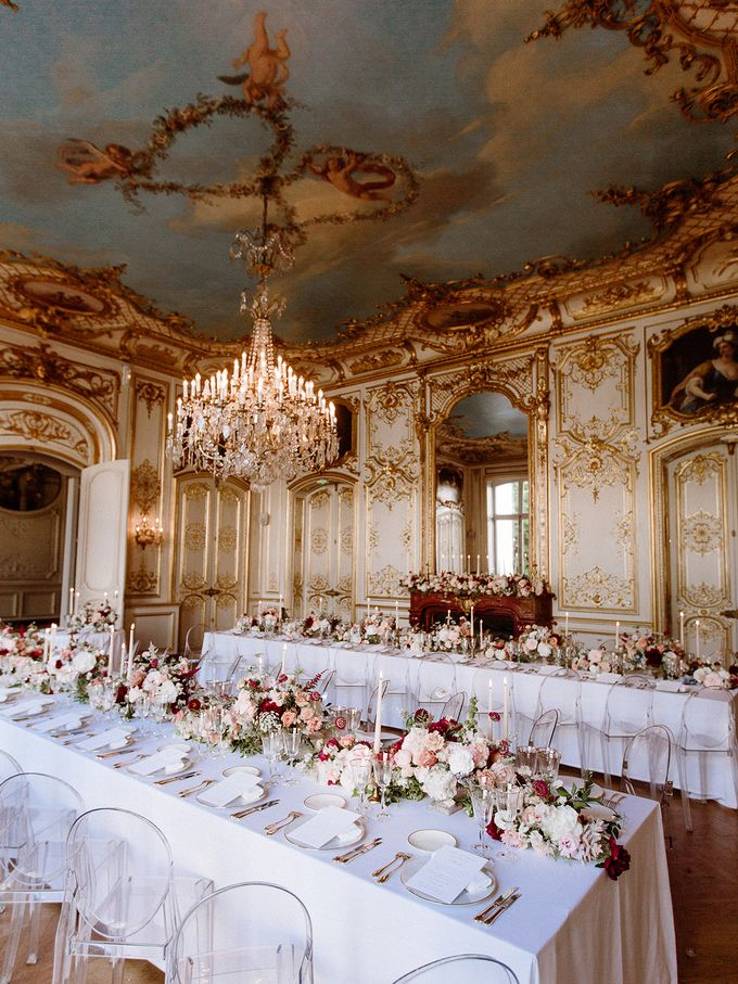 Private mansion luxury wedding in Paris by Dorothée Le Goater Events - 014
