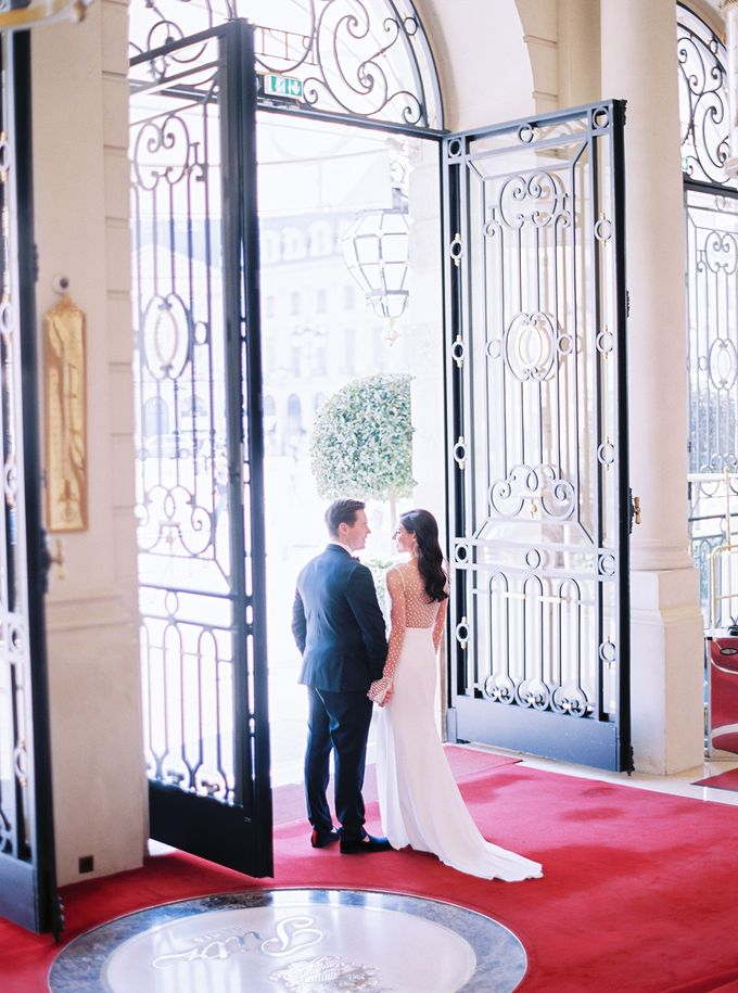 A Ritz Paris black tie wedding by Dorothée Le Goater Events - 020