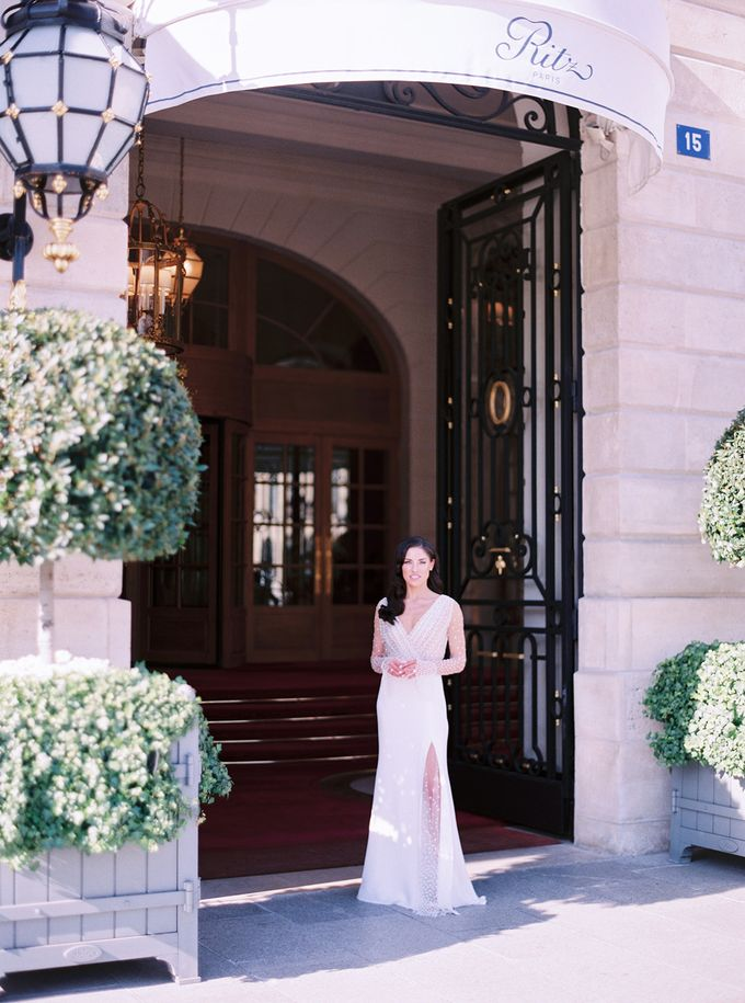 A Ritz Paris black tie wedding by Dorothée Le Goater Events - 021