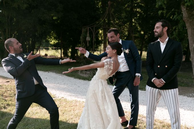 Al Fresco Wedding in the garden of a french castle by Dorothée Le Goater Events - 016