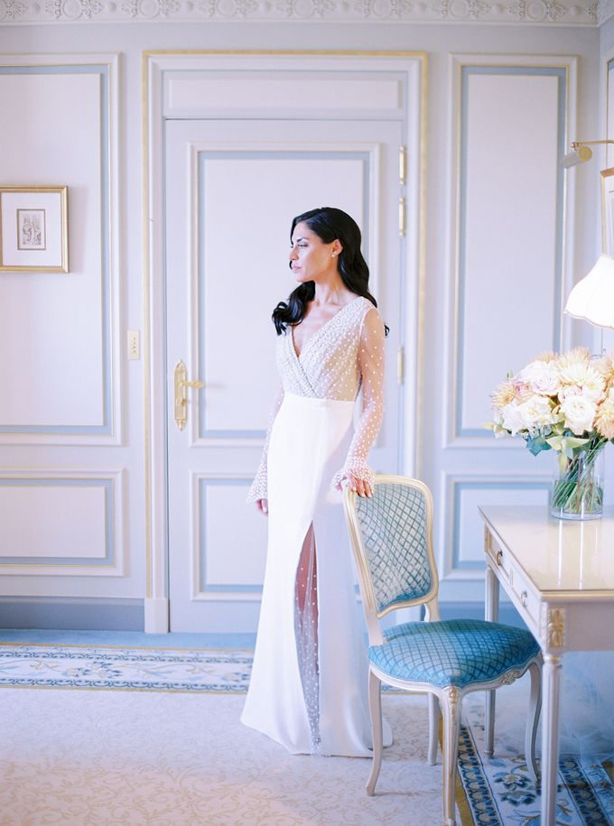 A Ritz Paris black tie wedding by Dorothée Le Goater Events - 022