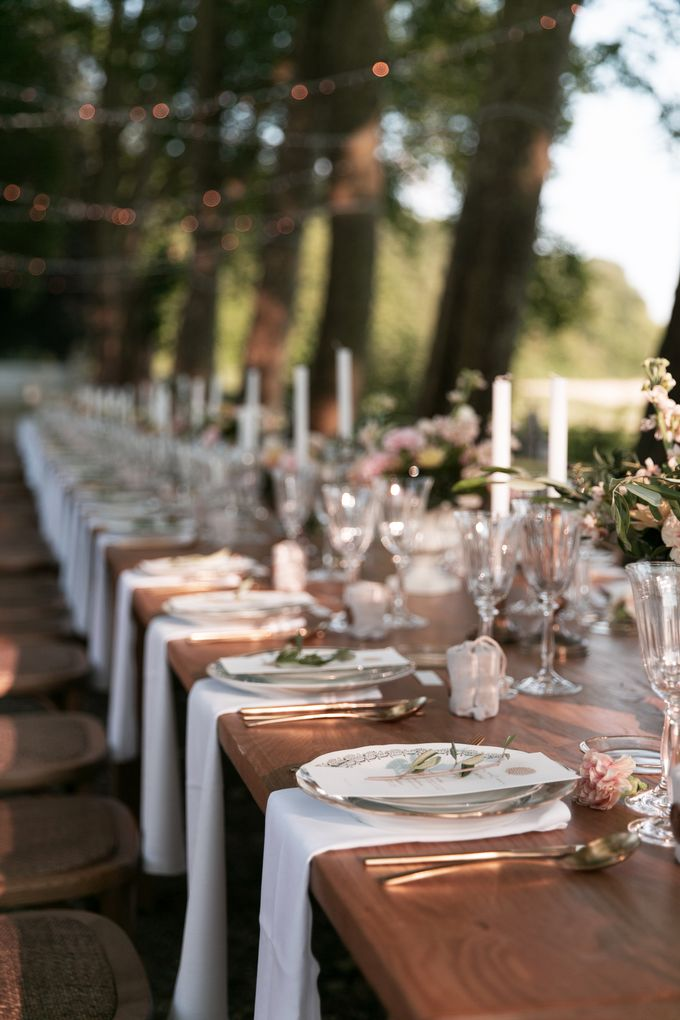Al Fresco Wedding in the garden of a french castle by Dorothée Le Goater Events - 018