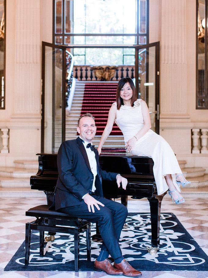 Private mansion luxury wedding in Paris by Dorothée Le Goater Events - 018