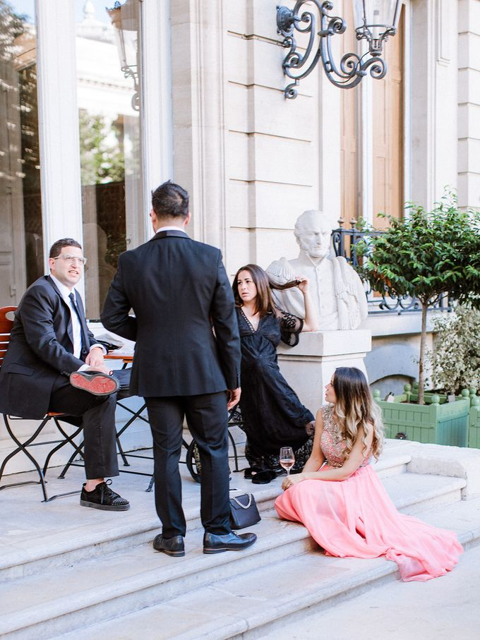 Private mansion luxury wedding in Paris by Dorothée Le Goater Events - 019