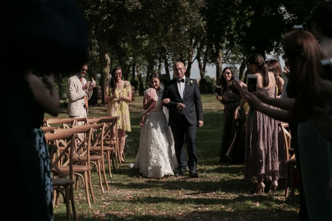 Al Fresco Wedding in the garden of a french castle by Dorothée Le Goater Events - 002
