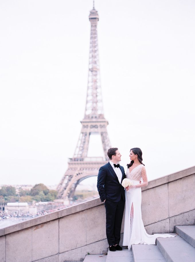 A Ritz Paris black tie wedding by Dorothée Le Goater Events - 003