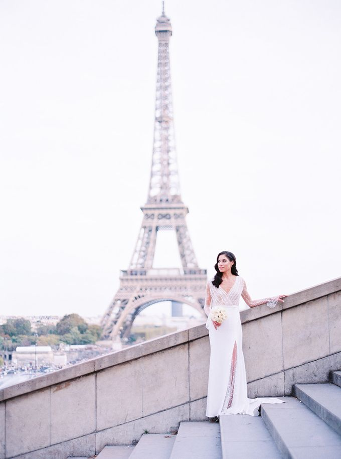 A Ritz Paris black tie wedding by Dorothée Le Goater Events - 008