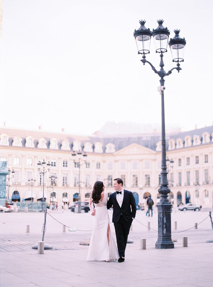 A Ritz Paris black tie wedding by Dorothée Le Goater Events - 026