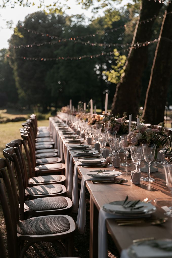 Al Fresco Wedding in the garden of a french castle by Dorothée Le Goater Events - 020