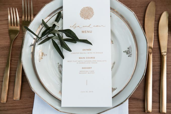 Al Fresco Wedding in the garden of a french castle by Dorothée Le Goater Events - 021