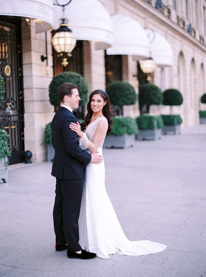 A Ritz Paris black tie wedding by Dorothée Le Goater Events - 029