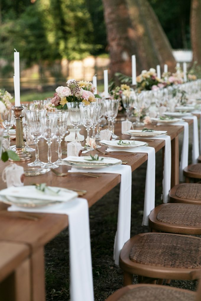 Al Fresco Wedding in the garden of a french castle by Dorothée Le Goater Events - 024