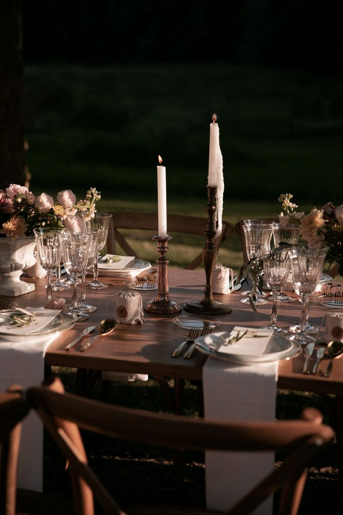 Al Fresco Wedding in the garden of a french castle by Dorothée Le Goater Events - 027