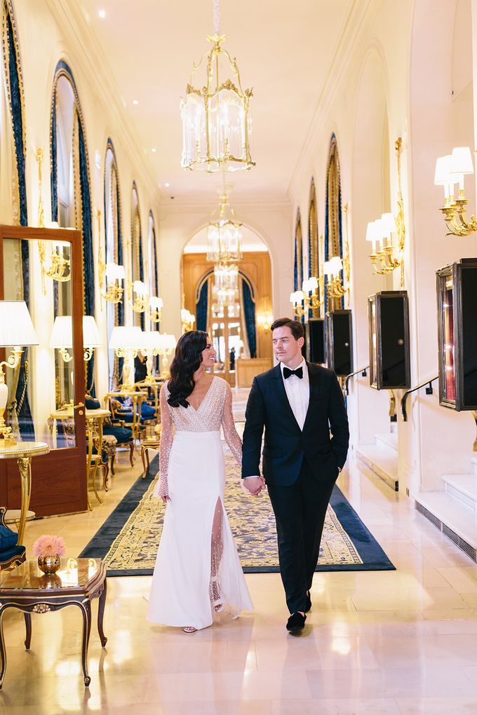 A Ritz Paris Black Tie Wedding Dorothee Le Goater Events Bridestory